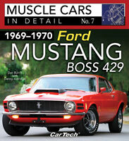 1969-1970 Ford Mustang Boss 429 Muscle Cars In Detail  Book Facts Numbers