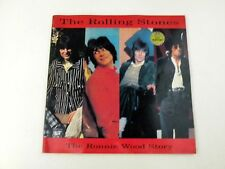 THE ROLLING STONES THE RONNIE WOOD STORY - LIBRO FOTOGRAFICO 1994 - BUONO - L1
