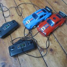 PORSCHE 911 Wired Remote Control macchinine x2 HONG KONG VINTAGE 80 S o 90 S?