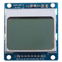 84x48 LCD Module Blue Backlight Adapter PCB 5110 LCD For Arduino ci