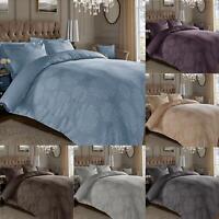 Ornamental Jacquard Duvet Cover 600 Thread Count Cotton Rich Oxford Pillowcases
