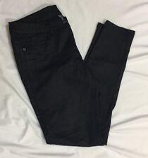 Bisou Bisou Shiny Black Skinny Jeans Size 8