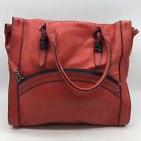 orYANY Red Leather Shoulder Bag