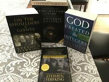 Stephen Hawking collection: 4 books, A Brief History of Time (HC) and more...