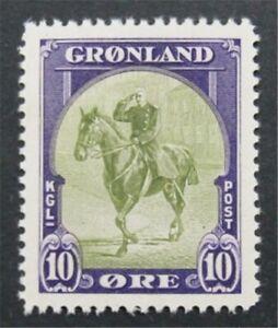 nystamps Greenland Stamp # 13 Mint OG NH     S24x472