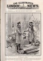 1918 London News March 30 - Seaplane carrier pigeons; Prosthetic legs; War dogs