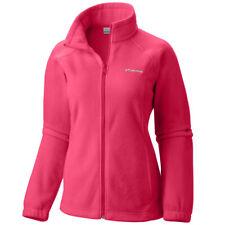 Columbia Benton Springs Full Zip Fleece Jacket Women Plus 2x Haute Pink 628