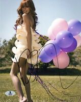 BELLA THORNE SIGNED AUTOGRAPHED 8x10 PHOTO VERY PRETTY BECKETT BAS