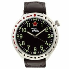 EAGLEMOSS REPLICA MILITARY WATCH - RUSSIAN TANK COMMANDER - NEW & BOXED £2.95 !!
