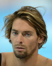 French Swimmer & Backstroke Specialist G1333 Camille Lacourt Unsigned Photo