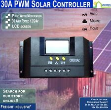 12/24V 30A PWM CM3024Z Genuine Juta Solar Regulator Charge Controller