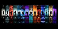 New - Dr Who all 13 Doctors including 13th Doctor - 36x18 - Large Movie Poster