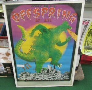 OFFSPRING POSTER NEW 1999 RARE VINTAGE COLLECTIBLE OOP LIVE