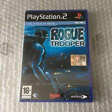 VINTAGE# PS2 PLAYSTATION EIDOS ROGUE TROOPER  # PAL SEALED SIGILLATO