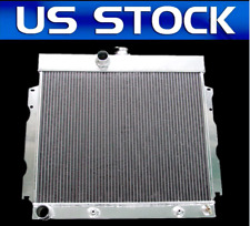 ALL ALUMINUM RADIATOR FIT 1966 67 1968 Dodge Charger/Coronet Belvedere 3 ROWS