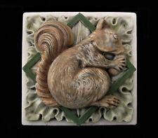 Squirrel Garden Arts & Crafts Gothic Ellison Tile