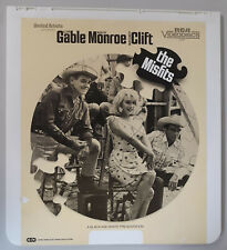 The Misfits Clark Gable,Marilyn Monroe,Clift CED RCA Selectavision VideoDisc