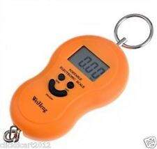 Electronic Digital LCD Display Luggage Weighing Scale 50kg With Temperature(Org)