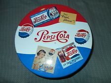 Pepsi Cola Tin Can