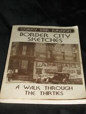 1991 BORDER CITY SKETCHES Corky Rawson Classic Signed Autograph Book Thirties