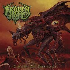 BROKEN HOPE - OMEN OF DISEASE  CD  15 TRACKS HARD & HEAVY / DEATH METAL  NEUF