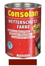 Consolan Wetterschutz-Farbe Schwedenrot  10 Liter NEUWARE Art. Nr. 5076282
