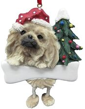 Pekingese ~ Dangling Dog Ornament #61