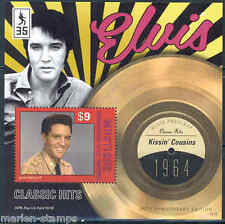 MUSTIQUE 2012 'ELVIS PRESLEY'  KISSIN COUSINS RECORD SOUVENIR SHEET MINT NH