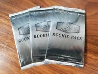 2006-07 Flair hockey (3) rookie update pack lot - RARE PACKS - Malkan Rookies?