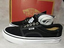 New Vans Rowley Pro Solos Suede Black Pewter White Canvas Skate Shoe Men Size 7