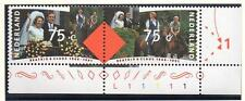 NETHERLANDS MNH 1991 Queen Beatrix and Prince Claus´s Silver Wedding