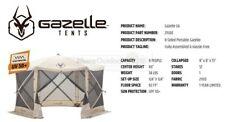 21500 New Gazelle G6 Portable RV Yard Gazebo Screened Family Event Canopy
