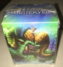 World Of Warcraft Feast Of Winter Veil Deckbox Set for Card  WoW 10 count lot