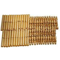 50 Set 4.0mm 4mm RC Battery Gold-plated Bullet Connector Male Female Banana Plug