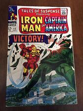 Tales Of Suspense # 83 Fine Iron Man Captain America Gene Colan Jack Kirby