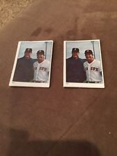 1981 Fleer Stamps Baseball Ted Williams #237- 5- Card lot