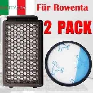 2Tlg Filtro Compact Power per Rowenta RO3715 RO3795 RO3798 Aspirapolvere IT