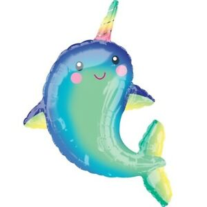Narwhal Narwhale Party Tableware, Decorations and Balloons