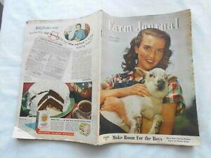 FARM JOURNAL Magazine-APRIL,1946