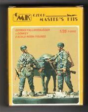 CMK CZECH MASTER'S KITS F-35032 - GERMAN FALLSHIRMJAGER + DONKEY 1/35 RESIN KIT