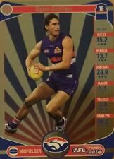 2014 afl TEAMCOACH GOLD WESTERN BULLDOGS RYAN GRIFFEN #123 CARD FREE POST