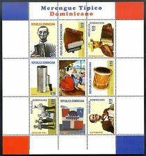 DOMINICAN REPUBLIC - MUSIC, TYPICAL MERENGUE, Mini Sheet, 2014, VF