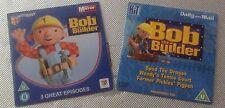 2 newspaper promo DVDs bob the builder children's dvds