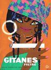 Vintage Gitanes French Cigarette Advertisement Poster Print A3/A4