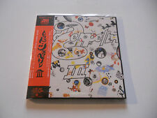 "Led Zeppelin ""III"" Rare Japan cd Paper Sleeve"