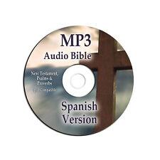 Spanish Bible-New Testament-MP3 Audio Book-Reina Valera Version-Jesus Christ CD*