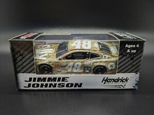 2019 Jimmie Johnson #48 Ally Patriotic Camo 1:64 Chevrolet NASCAR Diecast