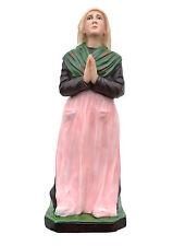 Saint Bernadette Soubirous resin statue cm. 55