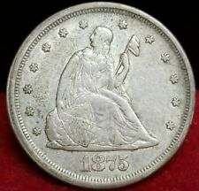 1875-S 20 Cents
