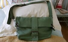 Beautiful BNWOT soft leather sage green colour 2-way across body bag
